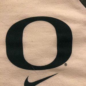 Nike Tops - Oregon Duck 3/4 sleeve baseball tee